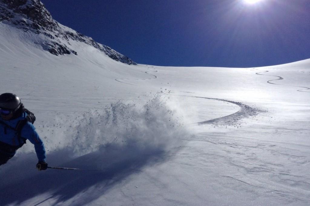 Vill du spendera nästa vinter i den soligaste delen av de Schweiziska alperna?