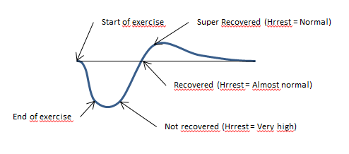 Recovery process - basic curve